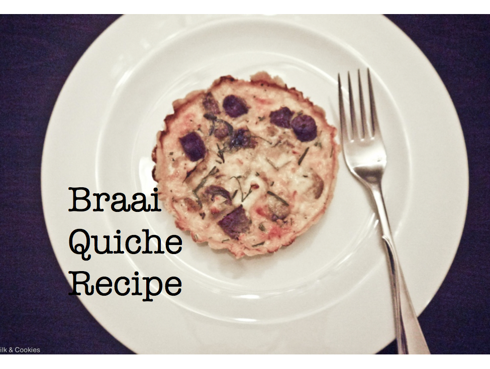 Braai Quiche Recipe | Milk & Cookies