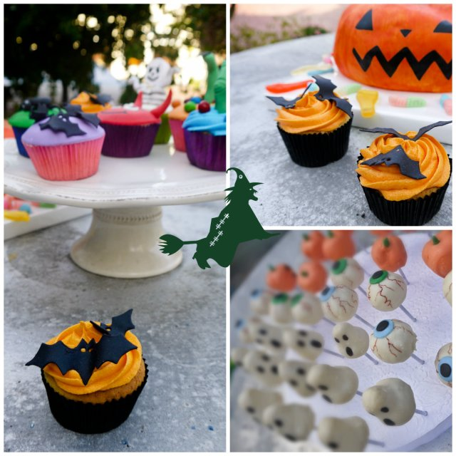 Happy Halloween  cupcakes and cakes | Milk and Cookies