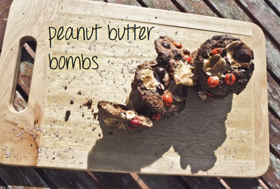 Peanut butter bombs recipe | Milk & Cookies