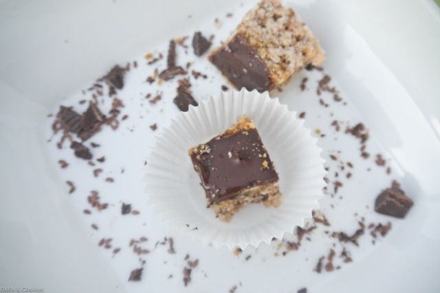 Salted Toffee Rice Krispies Treats recipe | Milk & Cookies