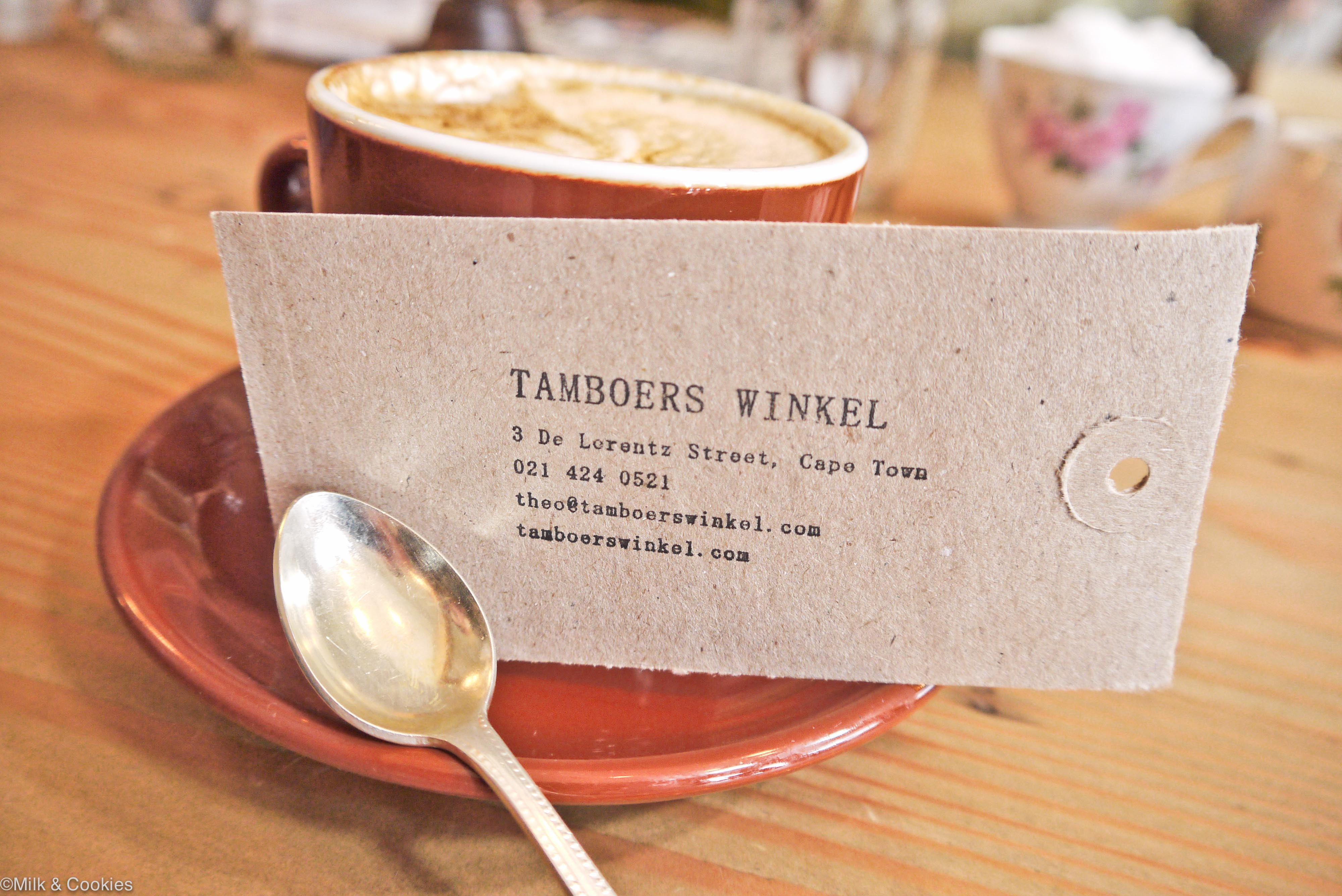 Tamboers Winkel Cape Town | Milk & Cookies