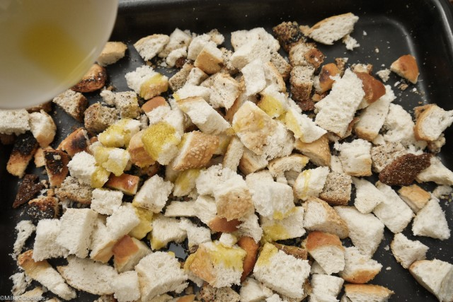 Easy crouton recipe | Milk and Cookies