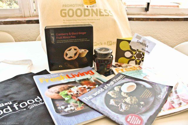 Pick n Pay goodie bag | Milk and Cookies