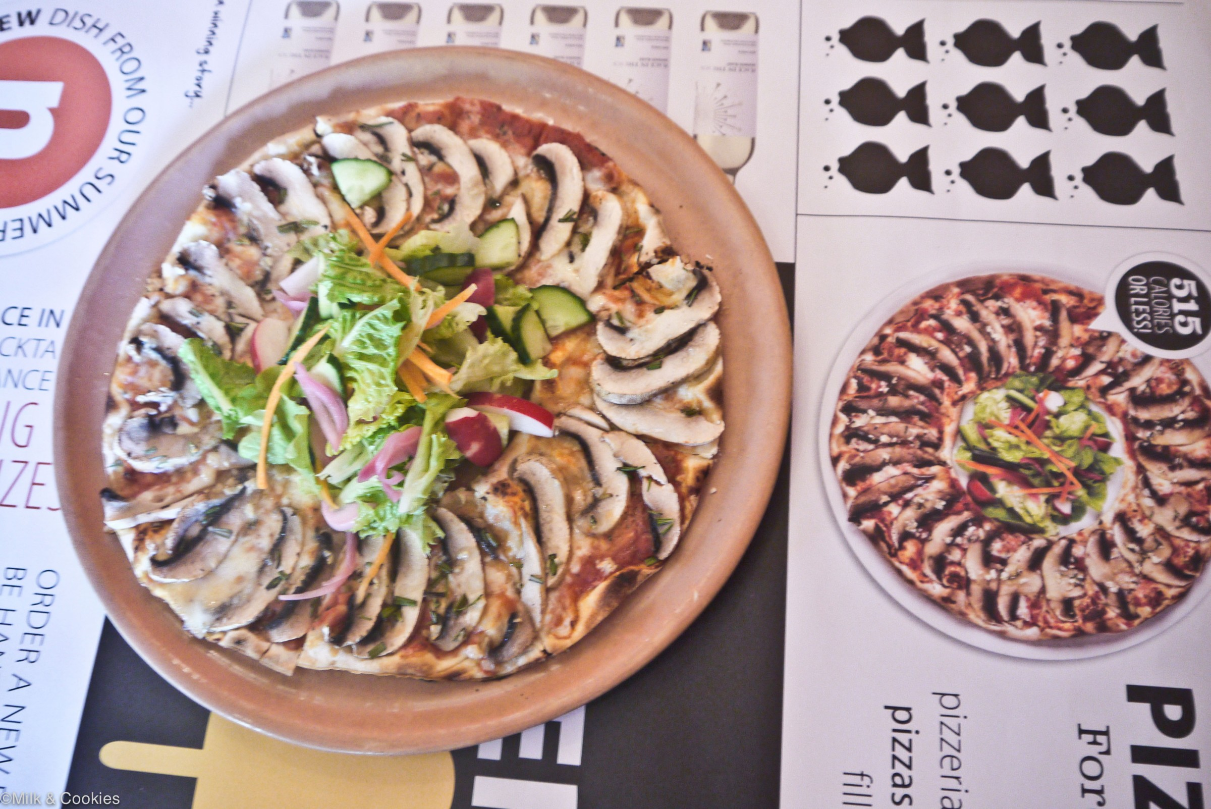 Pizza Foro at Colcacchios Cape Town | Milk and Cookies
