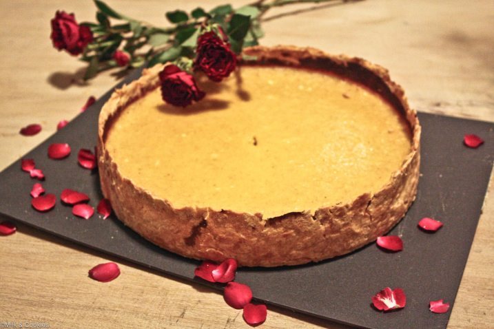 Thanksgiving Butternut pumpkin Pie recipe  | Milk and Cookies
