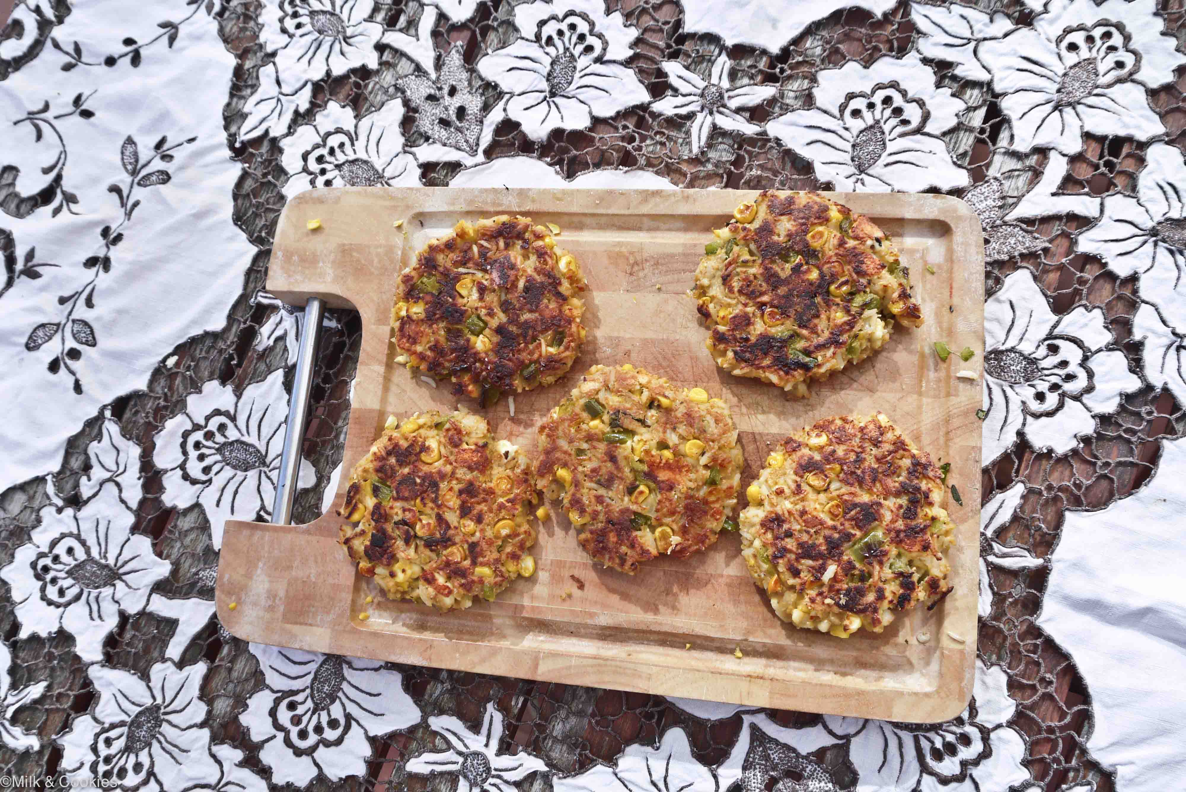 Veggie burger patty recipe | Milk and Cookies
