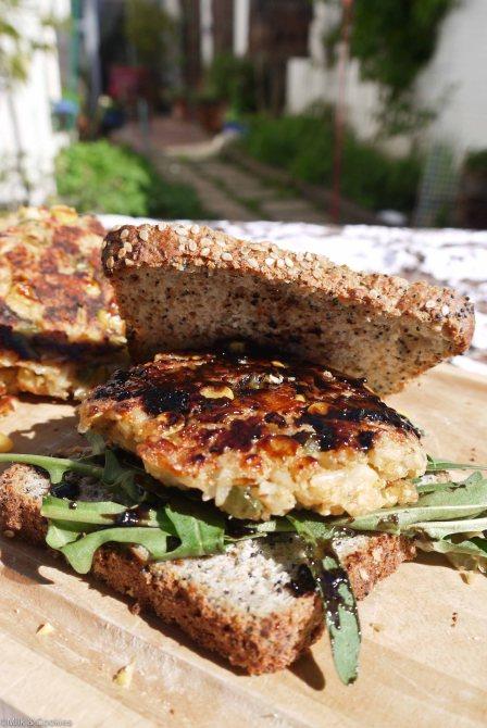 Veggie burger patty recipe | Milk and Cookies