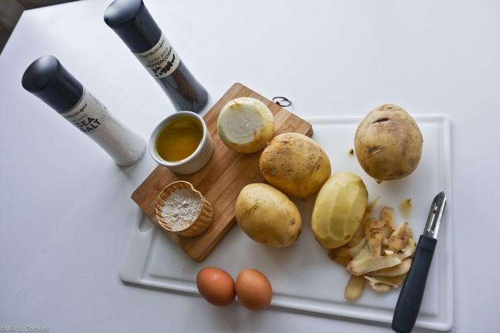 Channukah latka potato pancake recipe| Milk and Cookies -1