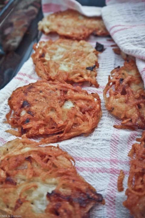 Channukah latka potato pancake recipe| Milk and Cookies -8