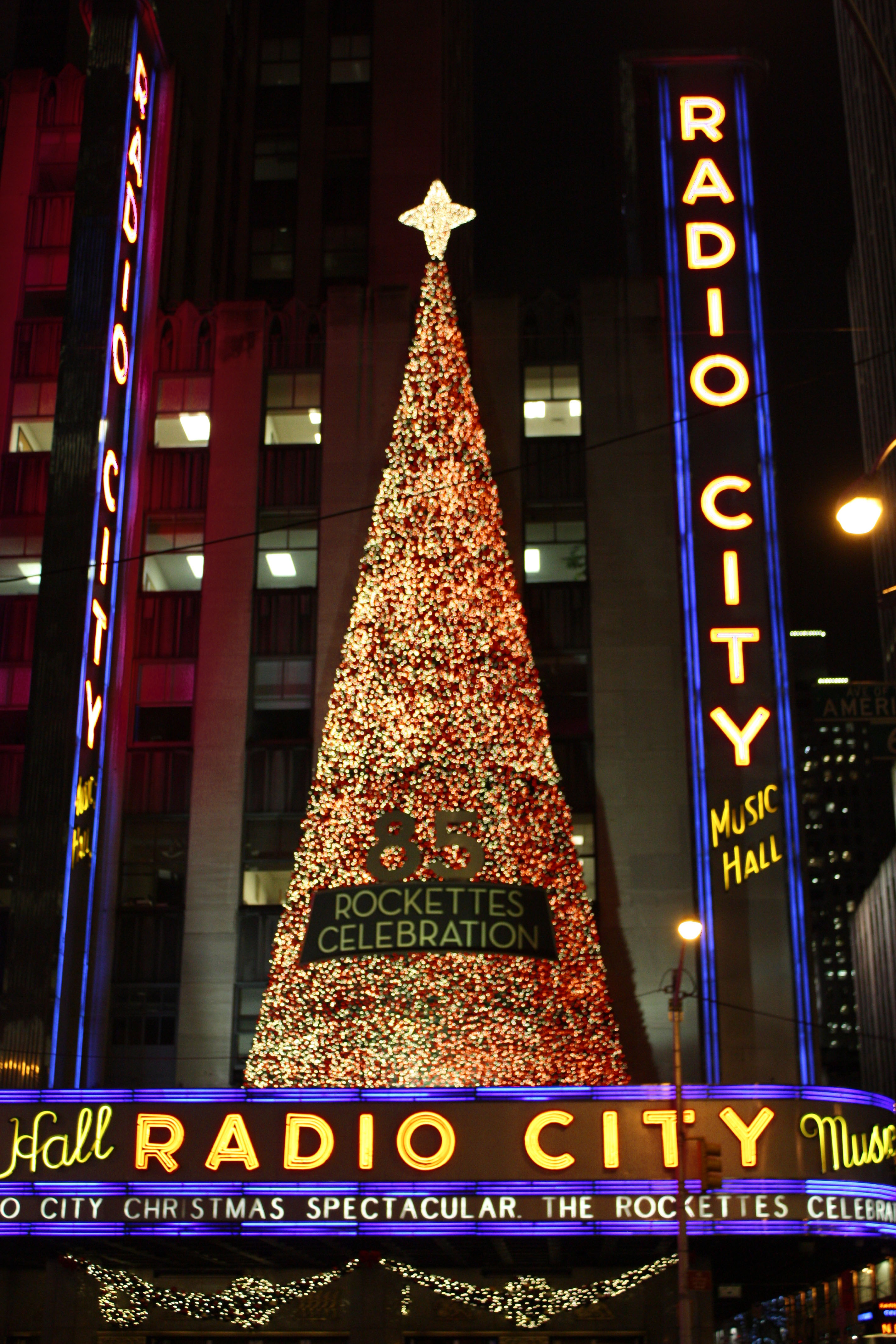 Christmas Trees in NYC and London | Milk and Cookies -5 | Milk and ...