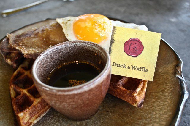 The Duck and Waffle London | Milk and Cookies