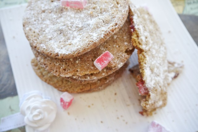 Turkish delight cookies recipe | Milk and Cookies -4