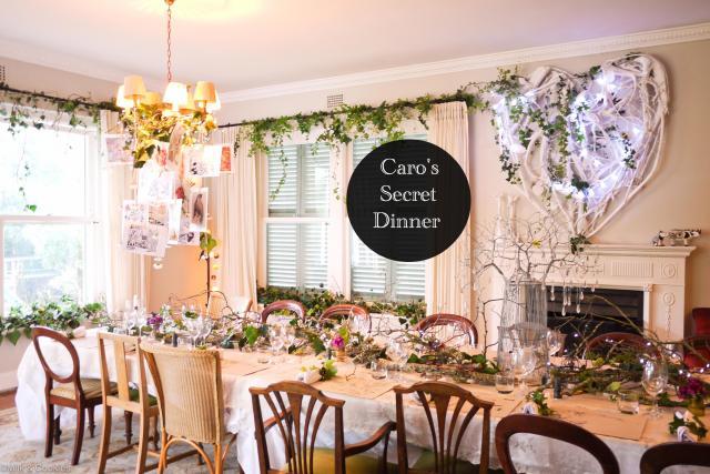 Caros Secret Dinner | Milk and Cookies SA