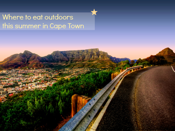 Where to eat outdoors this summer in Cape Town | Milk and Cookies SA