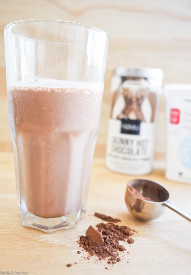 Nomu yogurt chocolate shake recipe | Milk and Cookies SA