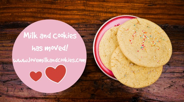 Milk and cookies has moved